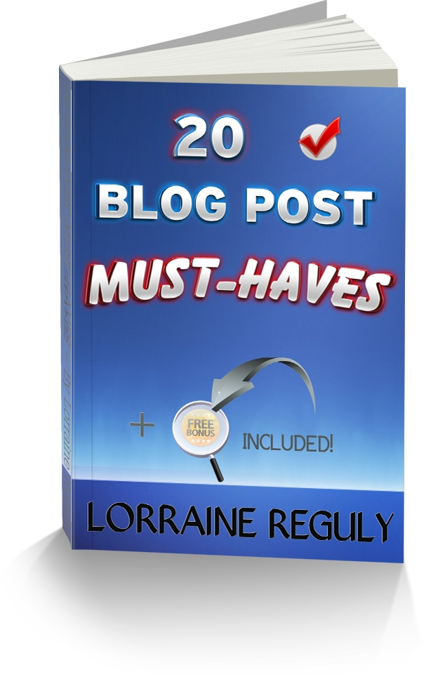 20 Blog Post Must-Haves ebook cover