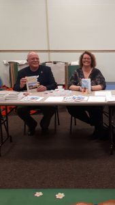 Lorraine Reguly and David Belrose at the Waverly Resource Library