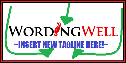 Wording Well logo WITHOUT A TAGLINE
