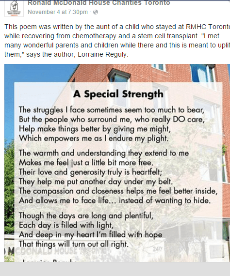 image of the poem I wrote that was shared on Facebook