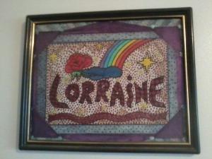 Lorraine's artwork