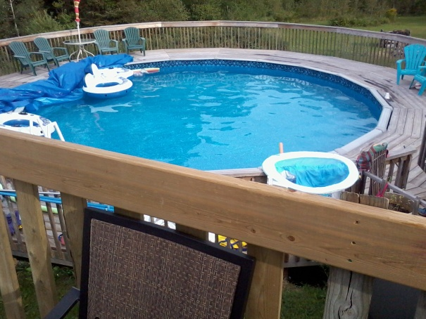 My brother Dan's pool