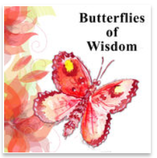 Butterflies of Wisdom logo