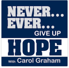 Carol Graham logo for Never Ever Give Up Hope