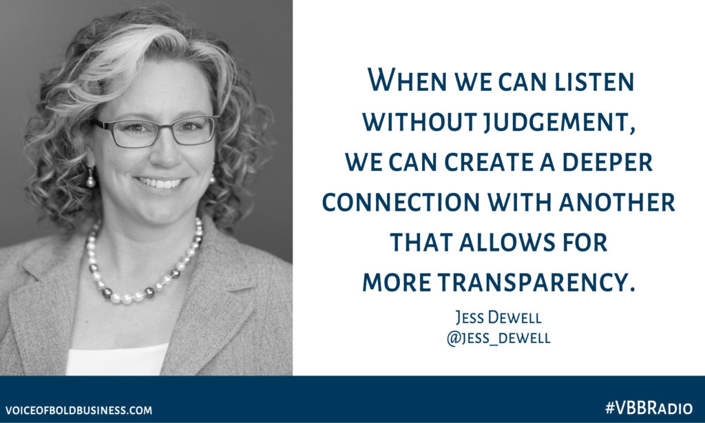 Jess Dewell quote