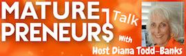 MaturePreneurs Talk logo