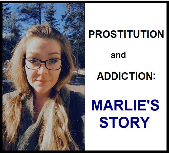 PROSTITUTION and ADDICTION—Marlie's Story - a picture of Marlie now